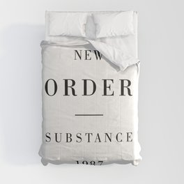 New Order Substance 1987 Comforters