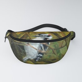 Downy Woodpecker Fanny Pack