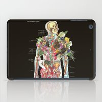 skeleton iPad Cases featuring Skeleton by Ben Giles