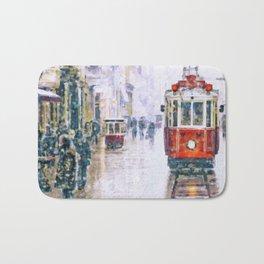 Istanbul Nostalgic Tramway Bath Mat