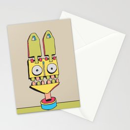 Freak Out Rabbit Stationery Cards