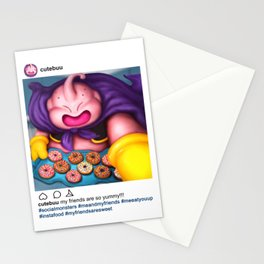 Buu - Social Monsters #01 Stationery Cards