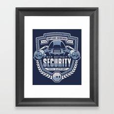Compliance Enforcement Framed Art Print