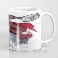thor Mugs featuring Thor by Isaak_Rodriguez