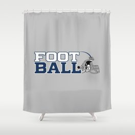 Futbol en Texas Shower Curtain