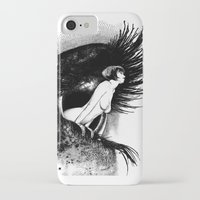 apollonia iPhone & iPod Cases featuring asc 602 - La spectatrice (Valentina at the gallery) by From Apollonia with Love