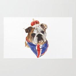 British Bulldog Rug