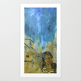 Tempting Tevana Art Print