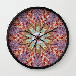 Sunny Day Kaleidoscope Mandala Fashion Design Wall Clock