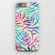Watercolor Tropical Palm Leaves Slim Case iPhone 6s