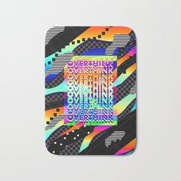Overthink Poster Bath Mat