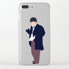 Second Doctor: Patrick Troughton Clear iPhone Case