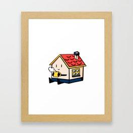 Home Body: Mugsy Framed Art Print