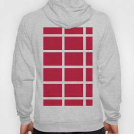 abstraction from the flag of denmark Hoody
