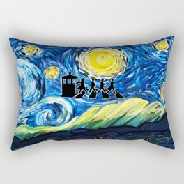 The Doctor With Starry Night Rectangular Pillow