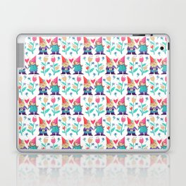 Gnome Love Pattern Laptop & iPad Skin