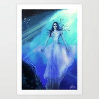 Serene Beauty Art Print