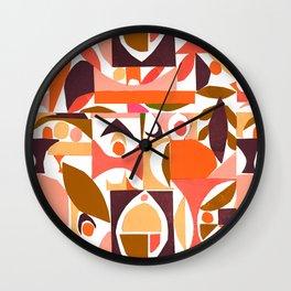 tango in the autumn ... Wall Clock