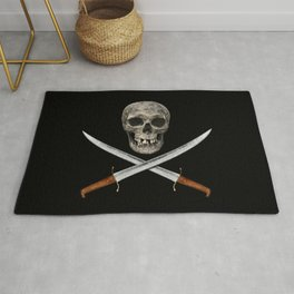 A Pirate's Blades Rug