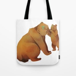Kodiak Bears Tote Bag
