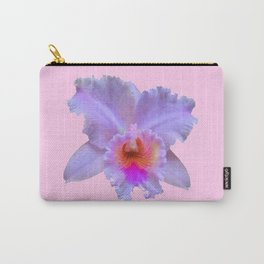 PINK ART TROPICAL CATTLEYA ORCHID FLOWER Carry-All Pouch
