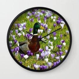 Spring 21 Wall Clock