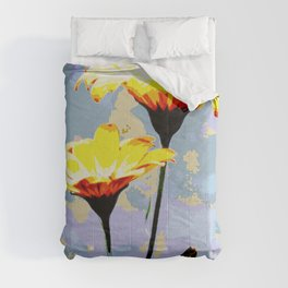 Daisys & blue sky Comforters