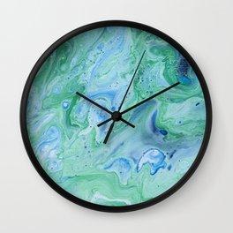 Cool Colors Expressions Wall Clock