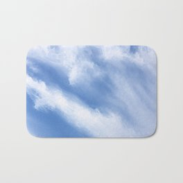 Cirrus Cloud streams Bath Mat