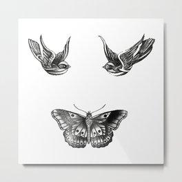 Tattoos Metal Print
