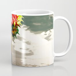 DESERT landscape with lolli pop candy Coffee Mug