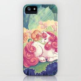 Magical creatures iPhone Case