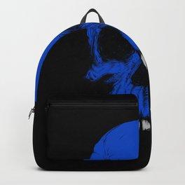 The Blue Skull Backpack