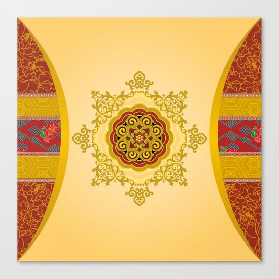 Mooncake Wrap Canvas Print