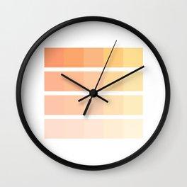 Oramge Wall Clock