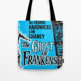 The Ghost of Frankenstein - Vintage 1950 Film Poster Tote Bag