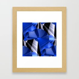 3D abstraction -03- Framed Art Print