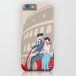 Roman Holiday iPhone Case