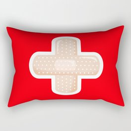 First Aid Plaster Rectangular Pillow