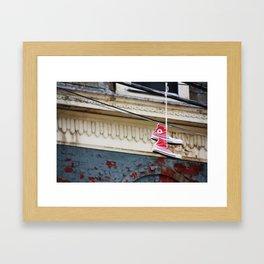 Pink Chucks Framed Art Print