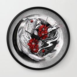 Balance [Yin-yang koi] Wall Clock