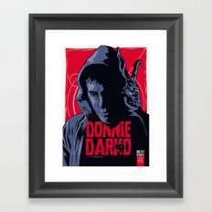 Donnie Darko - Fictive Comic Cover Framed Art Print