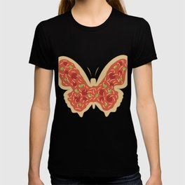 Pizzatterfly Pizza Butterfly Gift T-shirt