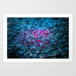 Water Color - Violet - Purple Art Print