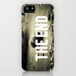 fim. iPhone Case