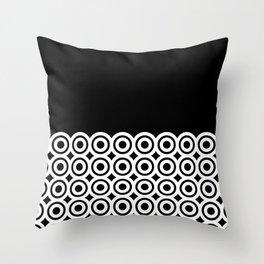 raspust (black/white) Throw Pillow