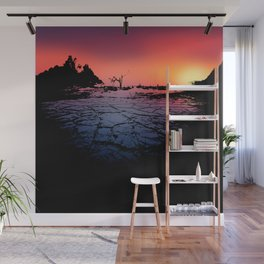 Silhouettes in the Desert Wall Mural