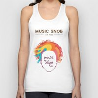 paramore Tank Tops featuring MORE Music to DYE for — Music Snob Tip #075.5 by Elizabeth Owens