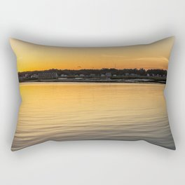 Chincoteague Bay at Sunset Rectangular Pillow