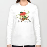 polka dot Long Sleeve T-shirts featuring The Polka Dot by Nick Volkert